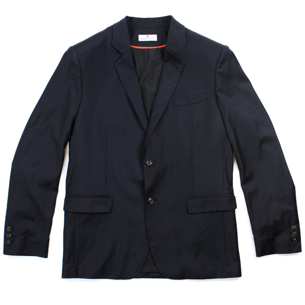 Merino Commuter Suit Jacket - Navy