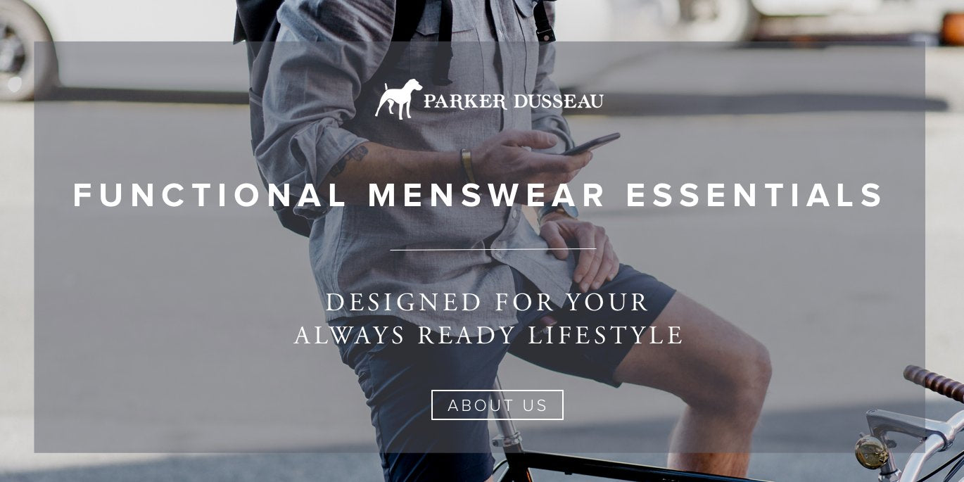 Parker Dusseau Functional Menswear Essentials Work Shirt Chino Schoeller San Francisco Commuter