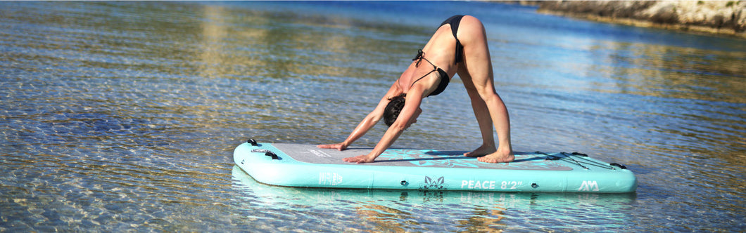 Aqua Marina Peace ISUP - BLUE-GREEN FOR YOGA