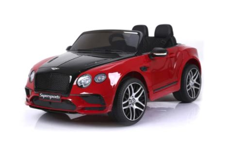 PREORDER 12V BENTLEY CONTINENTAL 2 SEATER KIDS RIDE ON CAR WITH REMOTE CONTROL