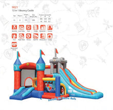 Load image into Gallery viewer, PREORDER Happy Hop 13 in 1 Bouncy Castle