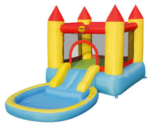 Load image into Gallery viewer, Happy Hop Bouncy Castle with Pool Slide