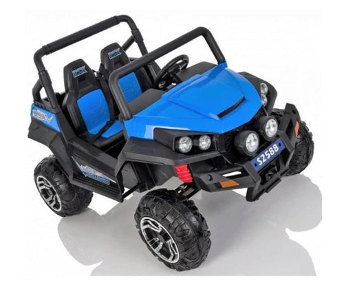 DUNE BUGGY 2 SEATER 12V KIDS RIDE ON CAR WITH REMOTE CONTROL