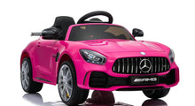 Load image into Gallery viewer, Mercedes Benz AMG GTR PINK 12V Kids Car with Remote Control