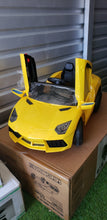 Load image into Gallery viewer, 12V Lamborghini Style Kids Ride On Car With Remote Control