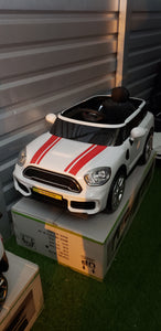 Mini Cooper Style 12V Kids Ride On Car With Remote Control