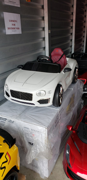 Bentley Style 12V Kids Ride On Car With Remote Control