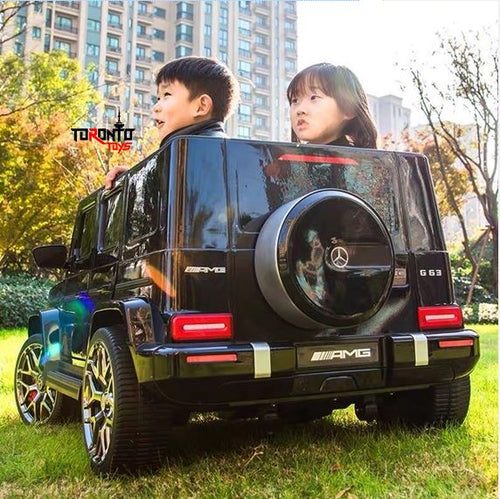 24V Mercedes Benz AMG G63 G Wagon 2 Seater Kids Ride On Car With Remote Control