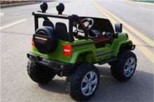 Load image into Gallery viewer, Jeep Style Kids Ride On Car 12V With Remote Control and Hydraulics