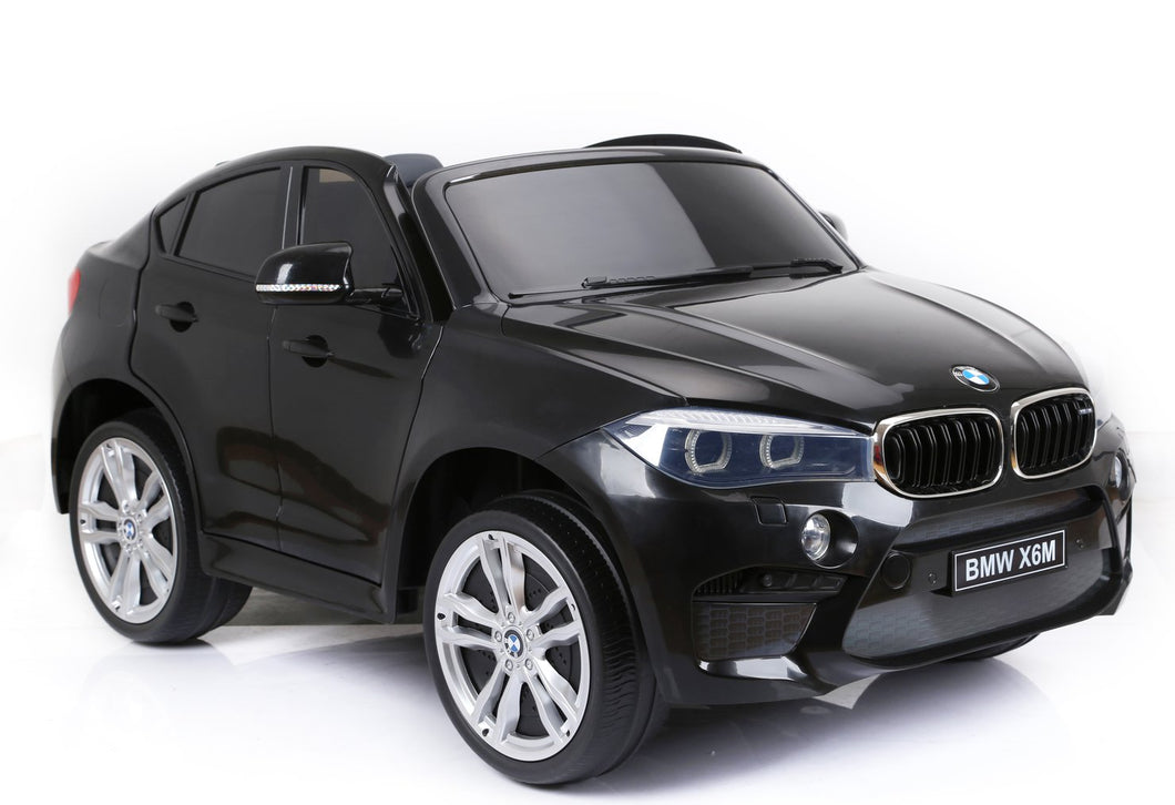 BMW X6 2 Seater 12v Kids Ride On Car With Remote Control EXTRA LARGE DELUXE MODEL!