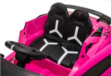 Load image into Gallery viewer, Lamborghini Aventador SVJ PINK 12V Kids Ride On Car With Remote Control