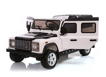 Load image into Gallery viewer, Landrover Defender 12V Kids Ride On Car With Remote Control