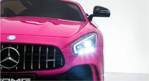 Mercedes Benz AMG GTR PINK 12V Kids Car with Remote Control