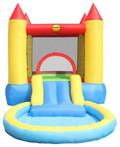 Happy Hop Bouncy Castle with Pool Slide