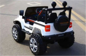 Jeep Style Kids Ride On Car 12V With Remote Control and Hydraulics