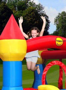 PREORDER Happy Hop Bouncy Castle With Slide