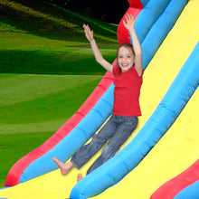 Load image into Gallery viewer, PREORDER Happy Hop Mega Slide Bouncy Castle