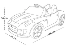Load image into Gallery viewer, Jaguar F-Type 12V Kids Ride On Car With Remote Control