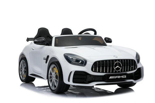 Mercedes Benz AMG GTR 12V 2 Seater Kids Ride On Car With Remote Control DELUXE MODEL WITH LEATHER SEATS AND RUBBER TIRES