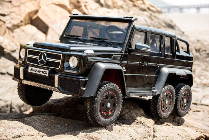 Mercedes Benz G63 6x6 12V Kids Ride On Car with Remote Control