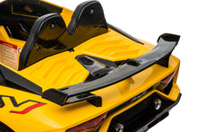 Load image into Gallery viewer, Lamborghini Aventador SVJ YELLOW 12V Kids Ride On Car With Remote Control