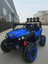 Load image into Gallery viewer, 12v UTV 4X4 2 SEATER RIDE ON CAR VERY BIG! WITH REMOTE CONTROL