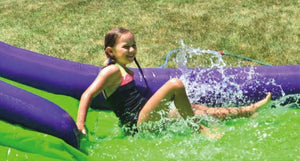 Happy Hop Double Water Slide Inflatable