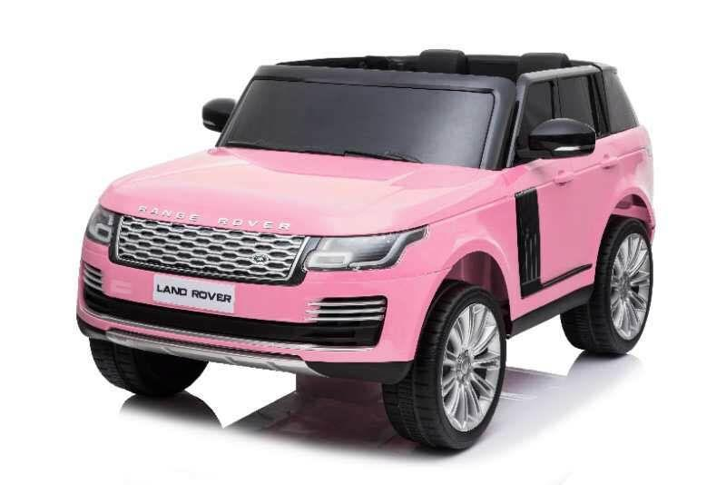 Range Rover HSE 2 Seater 12V Kids Ride On Car With Remote Control DELUXE MODEL WITH LEATHER SEATS AND RUBBER TIRES