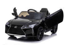 Load image into Gallery viewer, Lexus LC500 12V Kids Ride On Car With Remote Control DELUXE MODEL