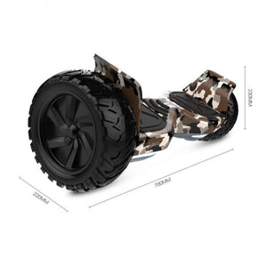 "8.5"" Offroad Hummer Hoverboard With Bluetooth"