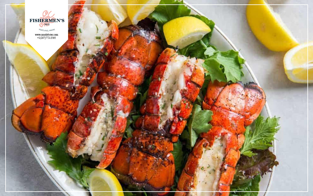 So you're done with the delicious home-grilled frozen lobster tail!