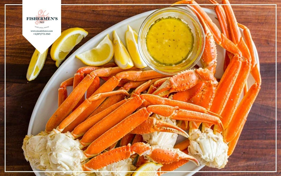 Dipping sauce for eating crab legs