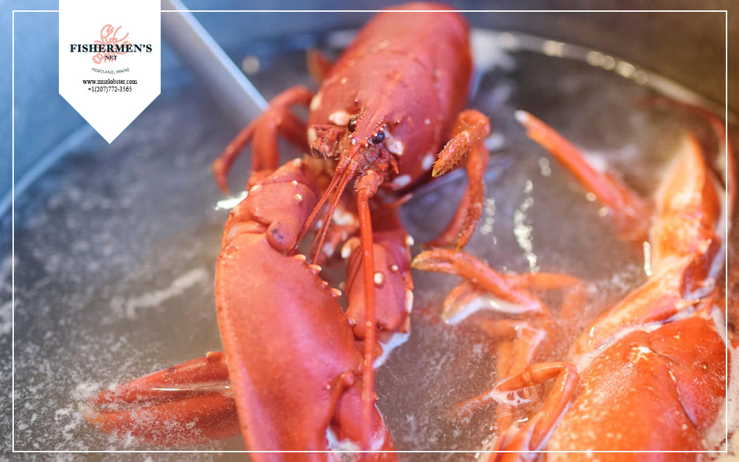 how to de shell a lobster