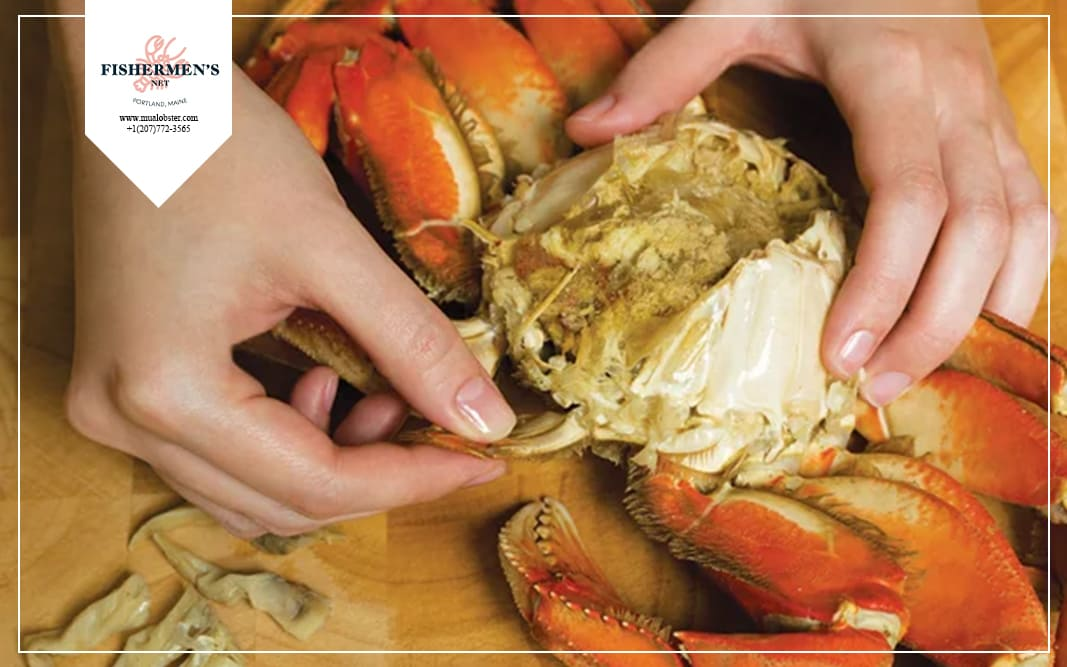 how to eat whole dungeness crab