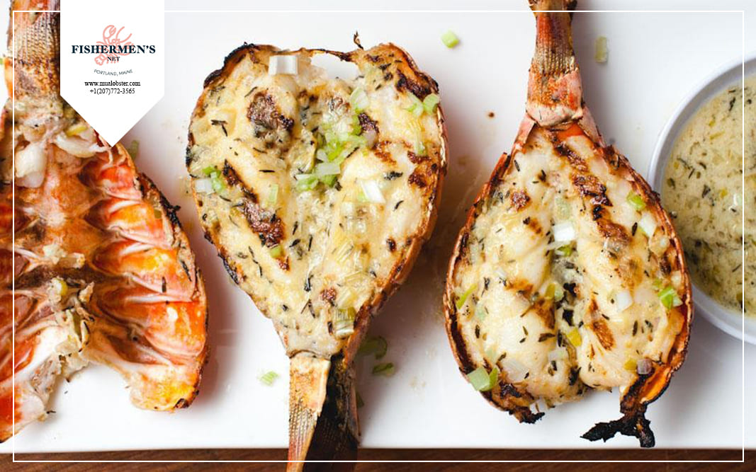 You can try away the grilled lobster to enjoy