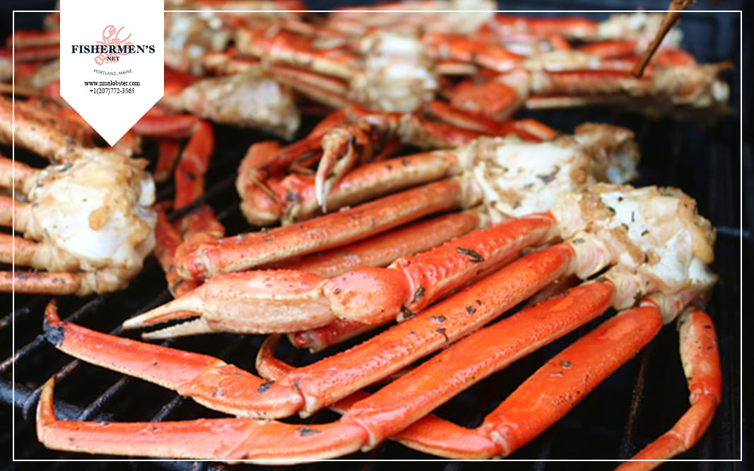 How to reheat crab legs on the grill