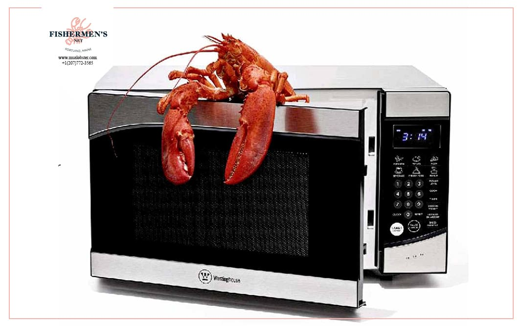 Add a little butter to keep your dish moist when you reheat lobster in the microwave!
