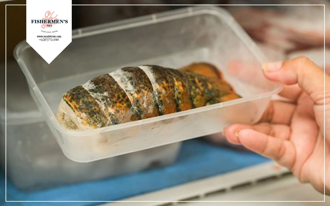 how to thaw frozen lobster tails