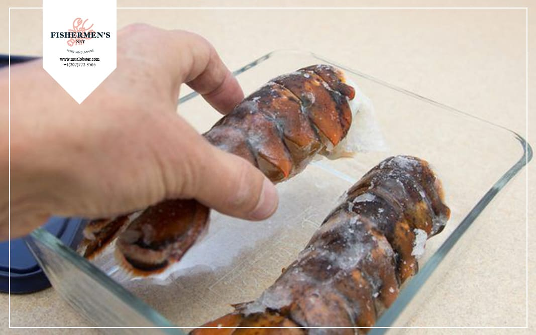 how to thaw lobster tails quickly