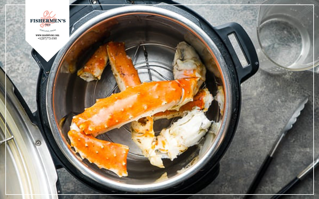 how to cook instant pot crab legs