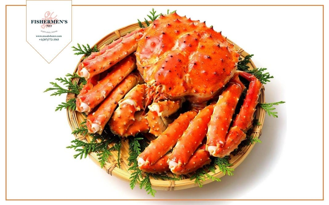 King Crab has a lobster-like flavour