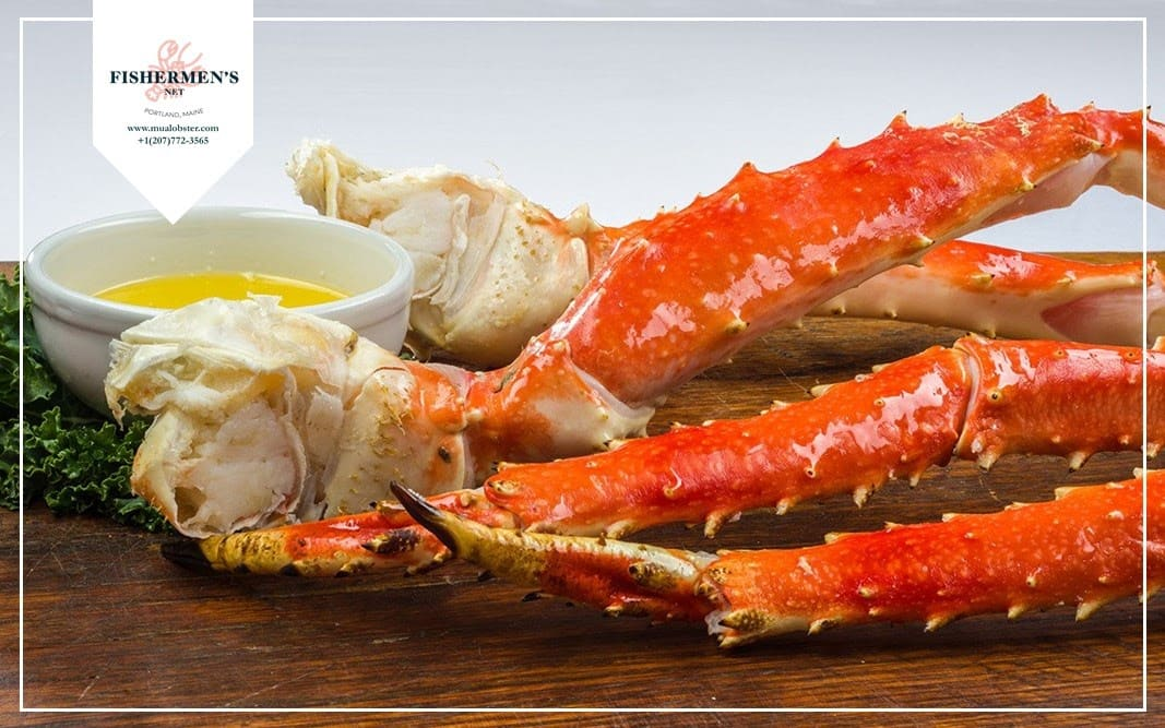 The big and thick legs of King Crab