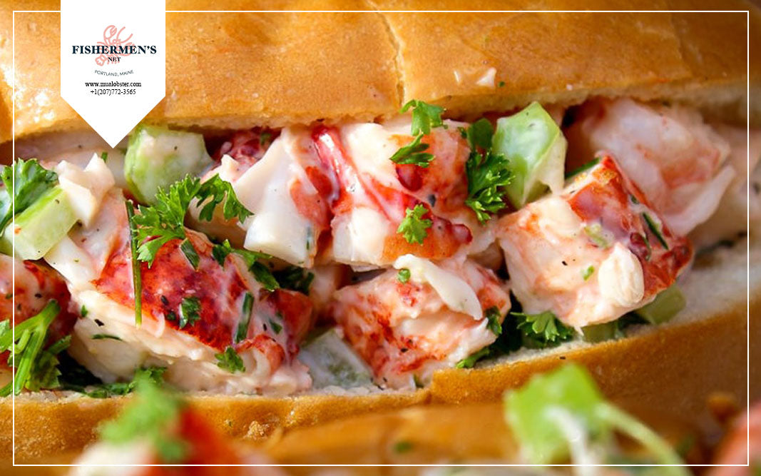 New England Lobster Roll in many flavors