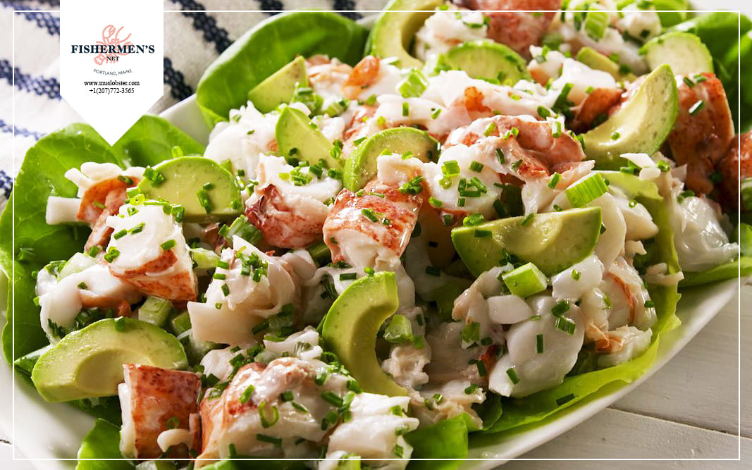 Let's learn some information about lobster salad recipe