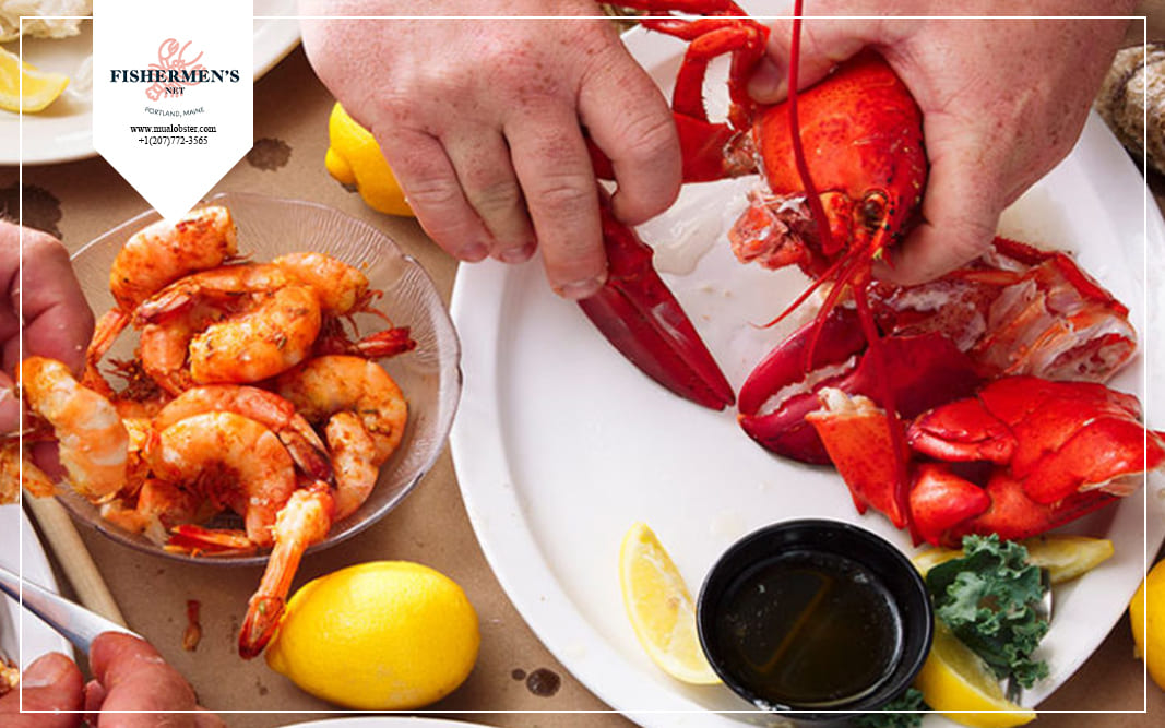 Avoid eating lobster if you have allergies