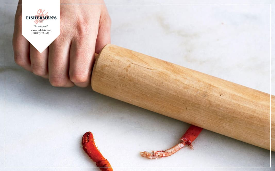 You can use it to roll away from the head of the lobster