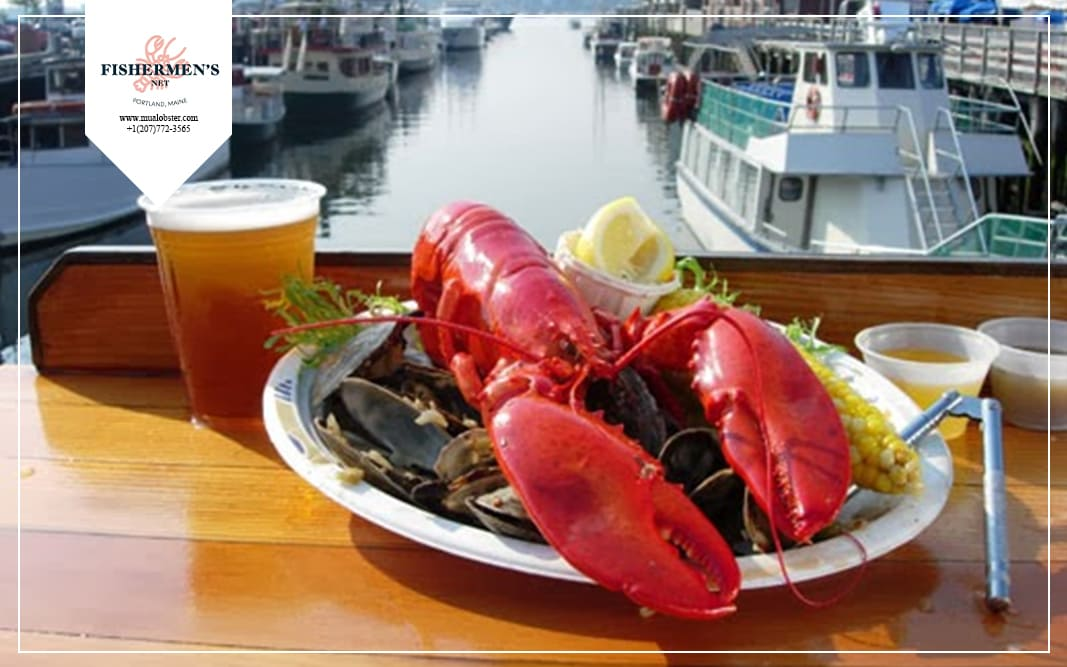 Getting from the harbor to your dining table is easy!