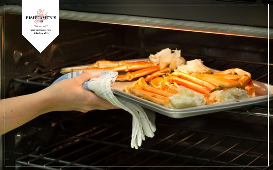 how to cook oven-baked crab legs