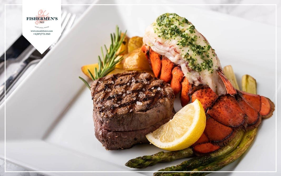 How to make surf & turf steak and lobster