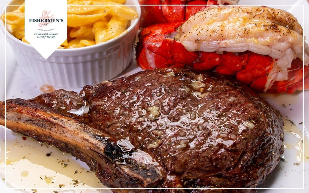 What is surf & turf?